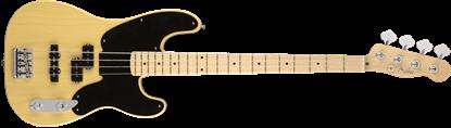 Fender Parallel Universe 51 Telecaster PJ Bass Guitar - Maple Neck - Blackguard Blonde