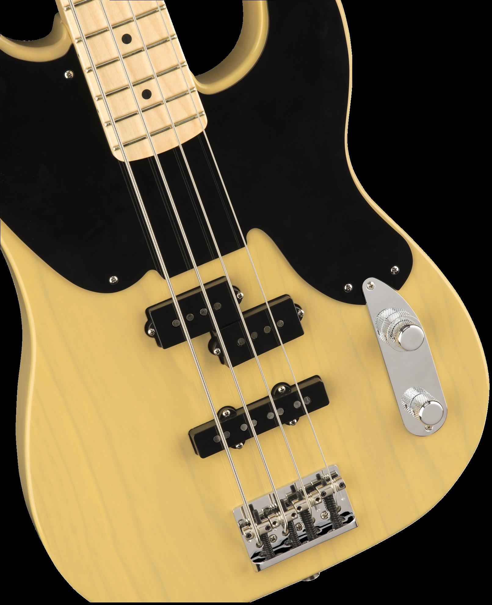 fender parallel universe 51 telecaster pj bass guitar maple neck blackguard blonde perth. Black Bedroom Furniture Sets. Home Design Ideas