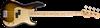 Fender Road Worn 50s Precision Bass Guitar - 2 Colour Sunburst