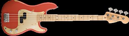 Fender Road Worn 50s Precision Bass Guitar - Fiesta Red
