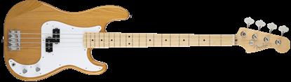Fender Made in Japan Hybrid '50s Precision Bass Guitar - Vintage Natural