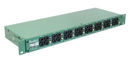 Radial ProD8 8 Channel Passive Instrument Direct Box
