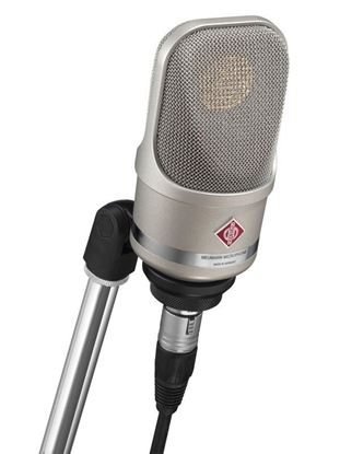 Neumann TLM107 Condenser Microphone with SG2 Swivel Mount - Nickel