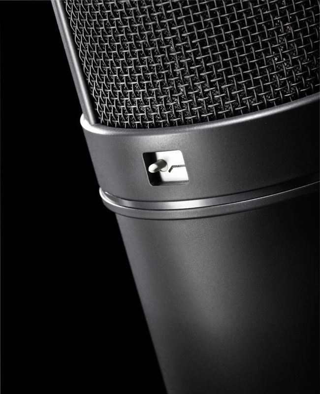 neumann u87 ai mt studio set condenser microphone with shock mount black perth mega music. Black Bedroom Furniture Sets. Home Design Ideas