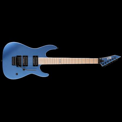 LTD M-400M Blue Chrome Metallic Electric Guitar