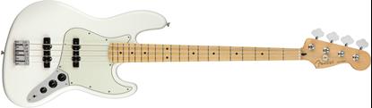Fender Player Jazz Bass Guitar - Maple Neck - Polar White 1