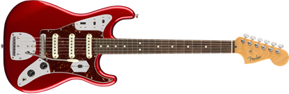 Fender Parallel Universe Jag Stratocaster - Rosewood Fingerboard - Candy Apple Red 1