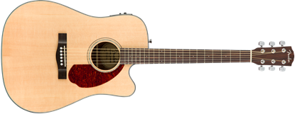Fender CD-140SCE Acoustic Guitar - Natural - With Hard Case (CD140SCE) 1