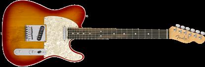 Fender American Elite Telecaster - Ebony Fretboard - Aged Cherry Burst 1