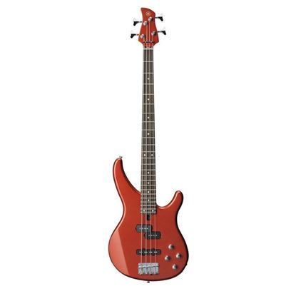 Yamaha TRBX204 Bass Guitar - Bright Red Metallic