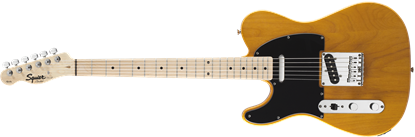 Squier Affinity Telecaster Electric Guitar - Left-Handed - Maple Neck - Butterscotch Blonde