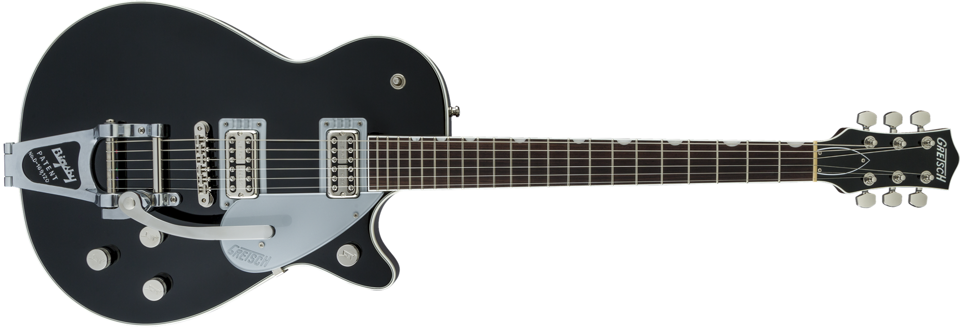 45afbfa136d Gretsch G6128T Players Edition Jet FT Electric Guitar with Bigsby Rosewood  Fingerboard 1