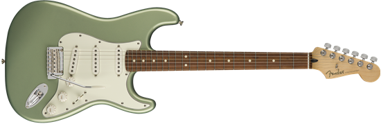 Fender Player Stratocaster Electric Guitar - Pau Ferro Fretboard - Sage Green Metallic