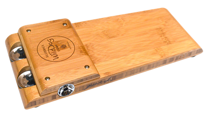 Wild Dog Silverback Bamboo Jingle Stomp Box  1