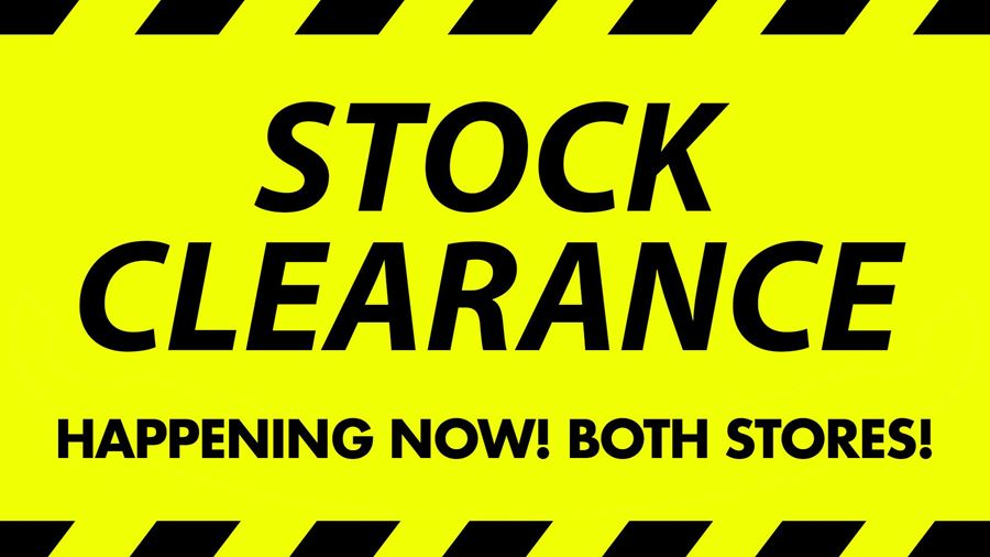 Floor Stock Clearance Sale 2018