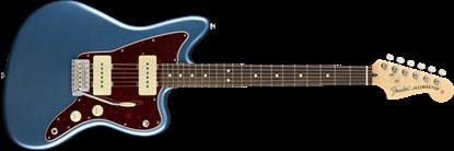 Fender American Performer Jazzmaster Electric Guitar - Rosewood Neck - Satin Lake Placid Blue