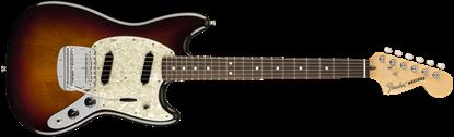 Fender American Performer Mustang Electric Guitar - Rosewood Neck - 3-Color Sunburst