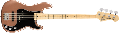 Fender American Performer Precision Bass Electric Guitar - Maple Neck - Penny