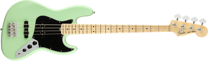 Fender American Performer Jazz Bass Electric Guitar - Maple Neck - Satin Surf Green