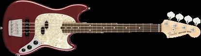 Fender American Performer Mustang Bass Electric Guitar - Rosewood Neck - Aubergine