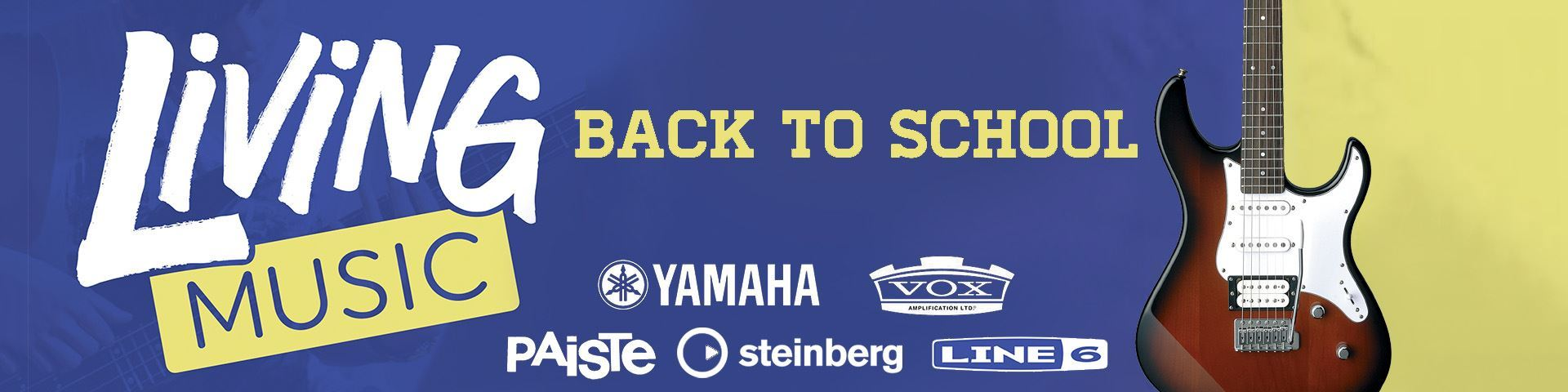 Yamaha Back to School Musical Instruments