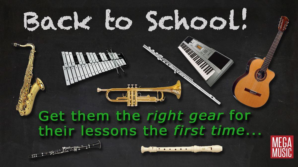 Back to School Saxophones