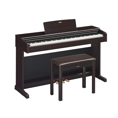 Yamaha Arius YDP-144R Digital Piano with Piano Bench (Rosewood Finish)