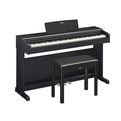 Yamaha Arius YDP-144 Digital Piano with Piano Bench Black