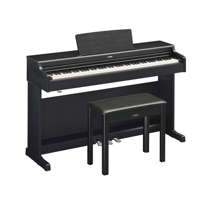 Yamaha Arius YDP-164 Digital Piano with Piano Bench black
