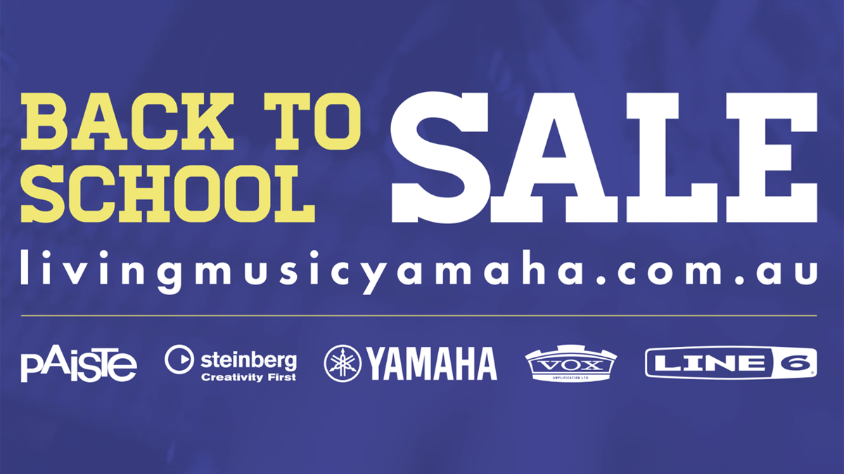 Living Music Back to School with Yamaha