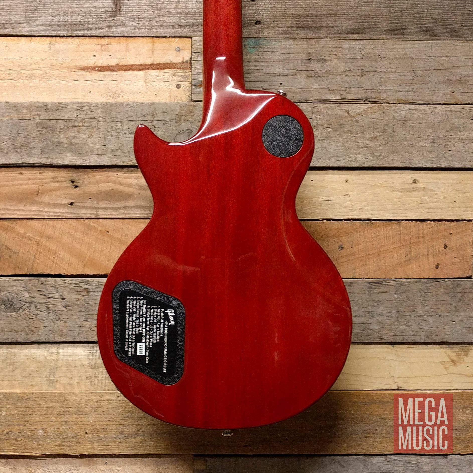 Gibson Les Paul High Performance 2019 Electric Guitar Heritage Cherry Fade body rear