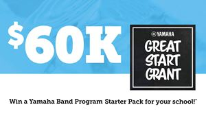Win A $60K Great Start Grant For Your School with Yamaha's Off To A Great Start
