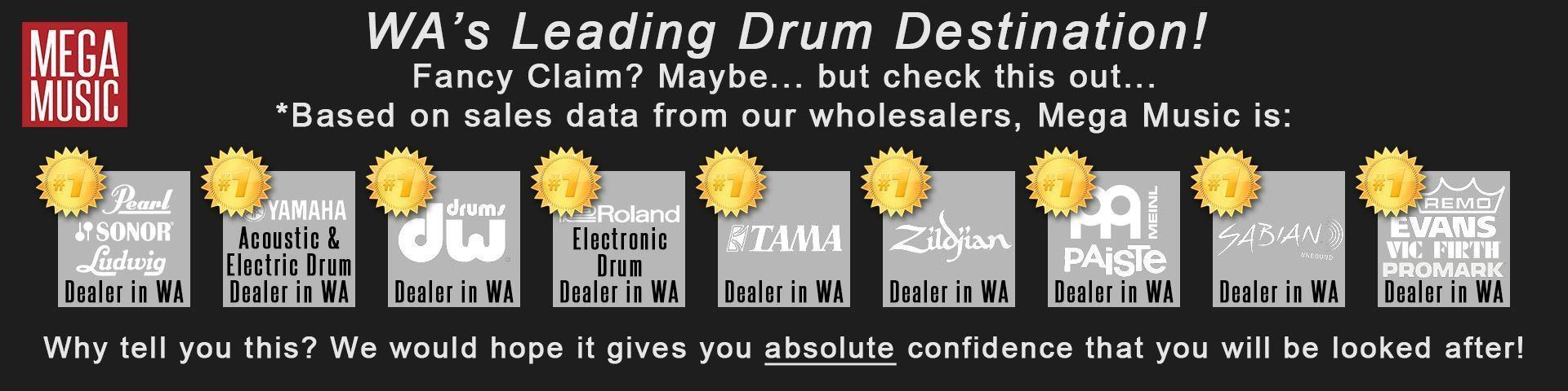 Western Australia's Leading Drum Destination - Mega Music