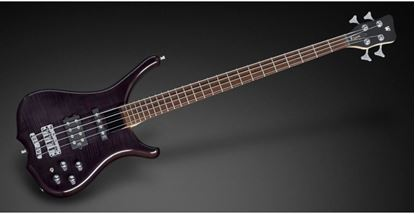 Warwick Rockbass Infinity 5 String Bass Guitar - Nirvana Black Trans High Polish