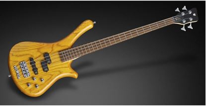 Warwick Rockbass Fortress 4 String Bass Guitar - Honey Violin Trans Satin