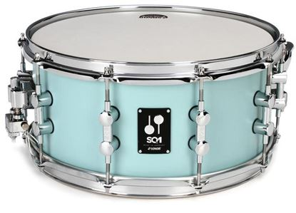 Sonor SQ1 14 x 6.5 Inch Snare Drum - Cruiser Blue