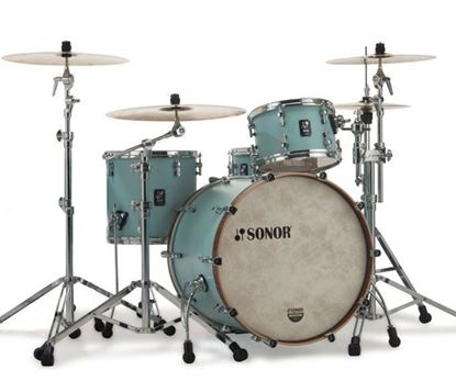 Sonor SQ1 3 Piece Drum Kit - Cruiser Blue