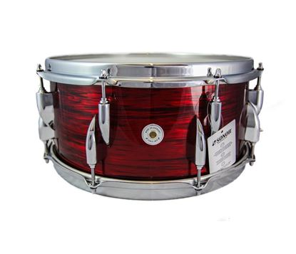 Sonor Vintage Series 14 x 6.5 Inch Snare Drum - Vintage Red Oyster