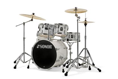 Sonor AQ1 Studio Set 5 Piece Drum Kit - Piano White