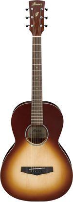 Ibanez PN19 Acoustic Guitar - Open Pore Natural Browned Burst