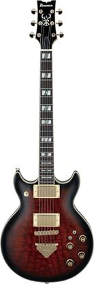 Ibanez AR325QA Electric Guitar - Dark Brown Sunburst