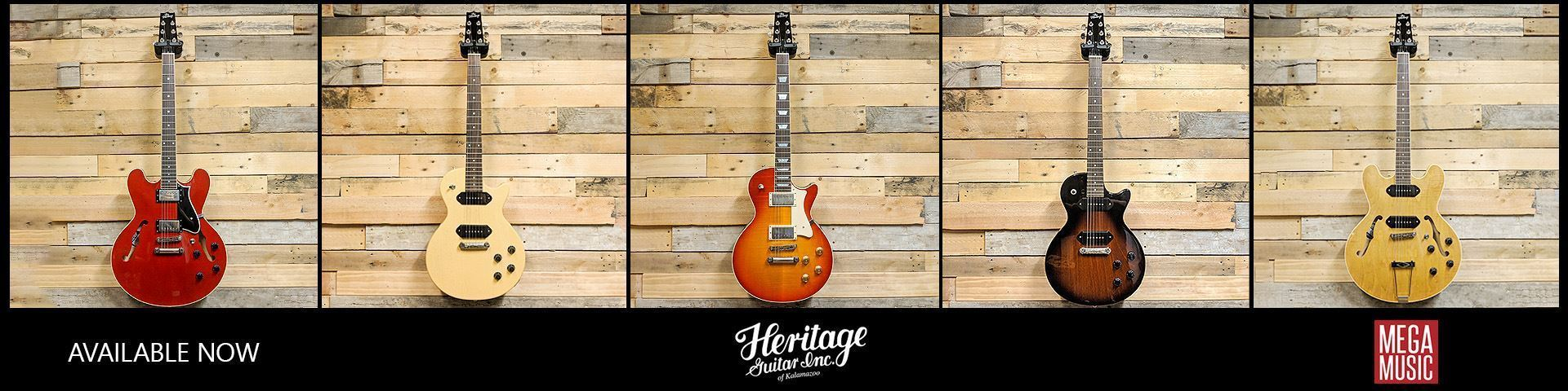 Heritage Series Guitars available now