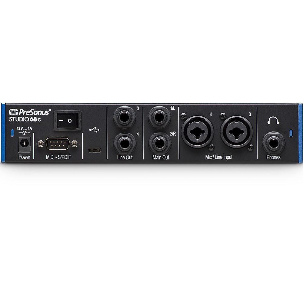Presonus Studio Series 68c 4x4 USB - C Audio Interface