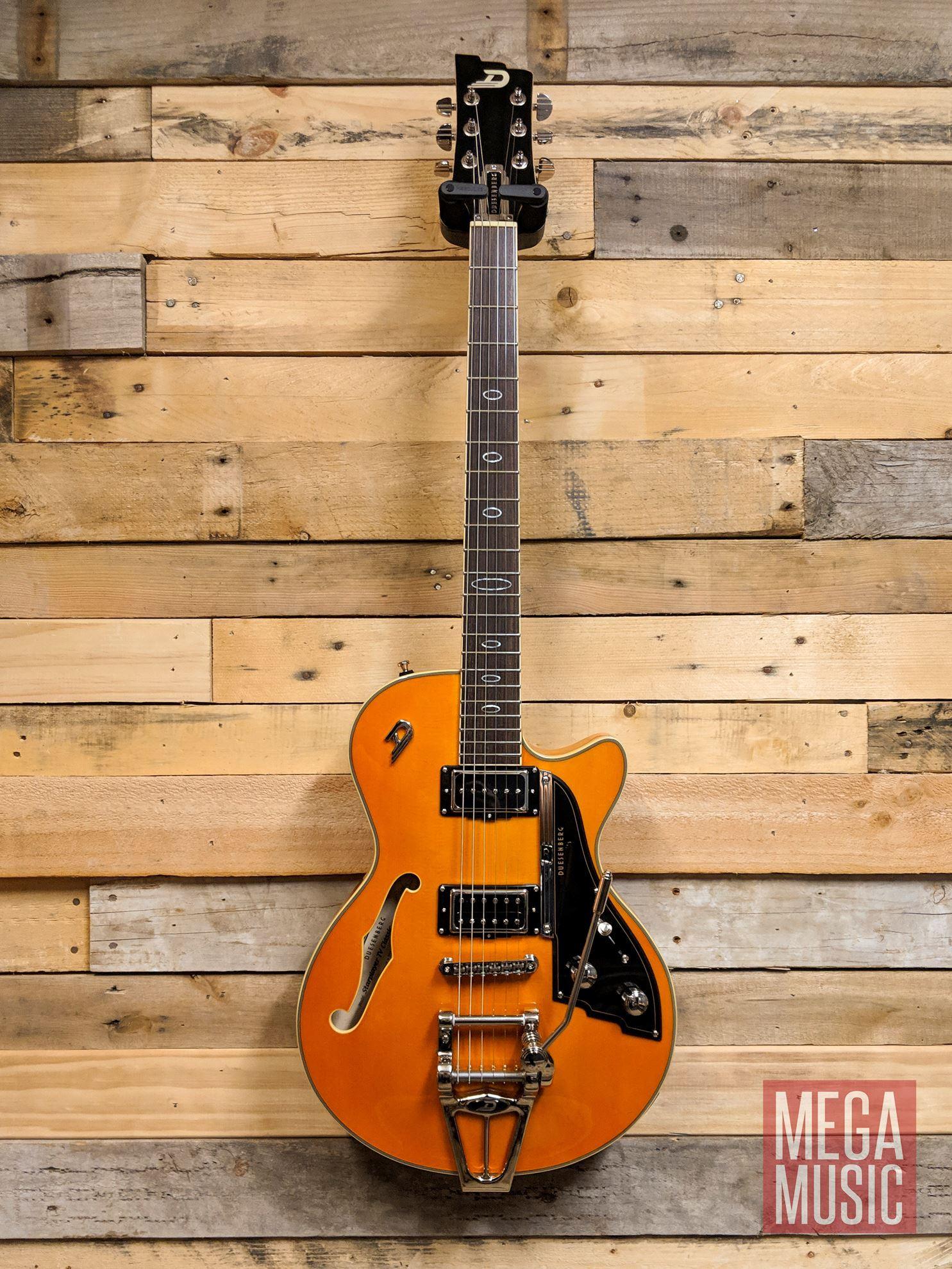 duesenberg starplayer tv semi hollow electric guitar with case classic honey perth mega. Black Bedroom Furniture Sets. Home Design Ideas