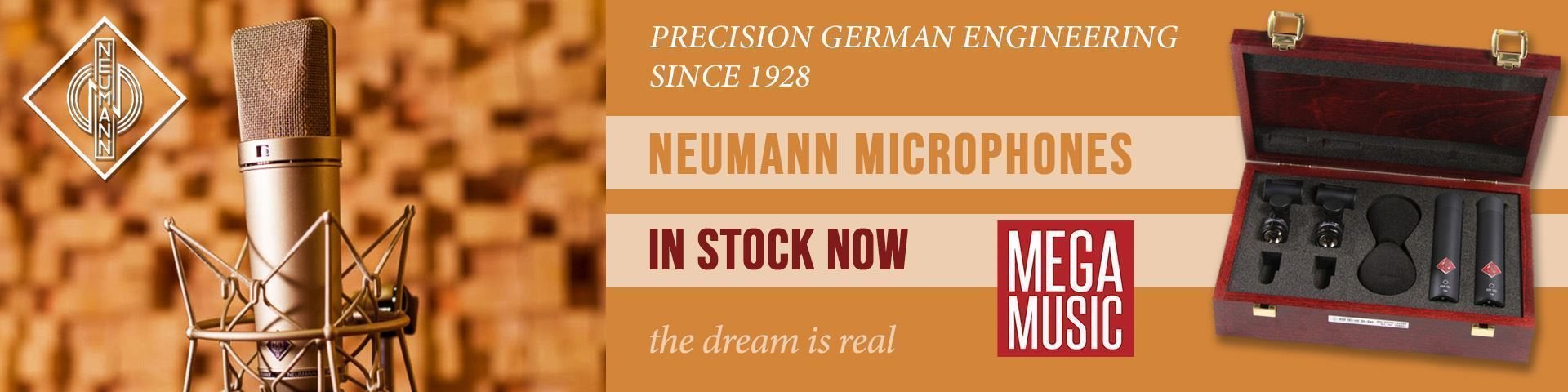 Neumann Microphones at Mega Music