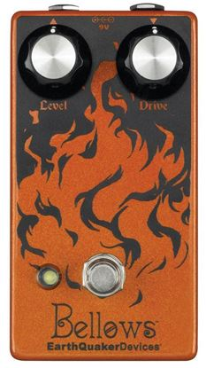 Earthquaker Devices Bellows Fuzz Driver Effects Pedal Top