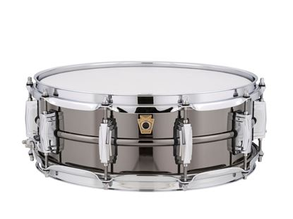Ludwig Black Beauty Brass Snare Drum 5x14 Smooth Shell with Imperial Lugs