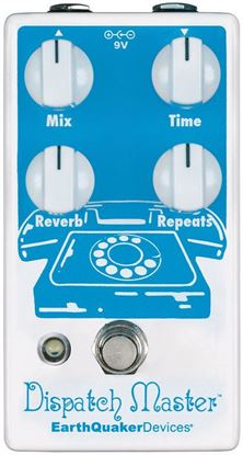 Earthquaker Devices Dispatch Master Delay & Reverb V2 Effects Pedal Top