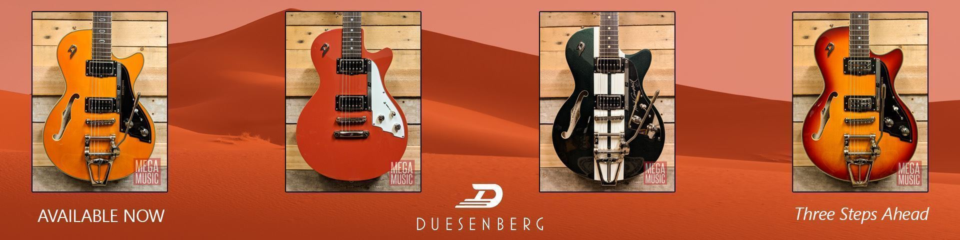Duesenberg Guitars Now In Stock
