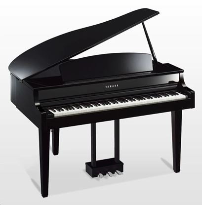 Yamaha CLP665GP Clavinova Digital Piano with Bench - Polished Ebony